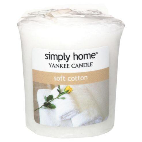 Yankee Candle Votive, Soft Cotton