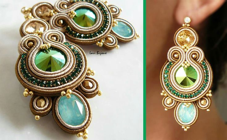 Designed by LaviBijoux Via Facebook She have a store in Etsy