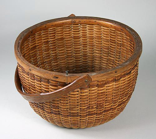 Basket Weaving Peterborough : Best images about folk art and antiques on
