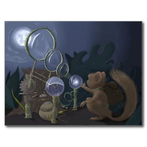 Moonshine Postcard