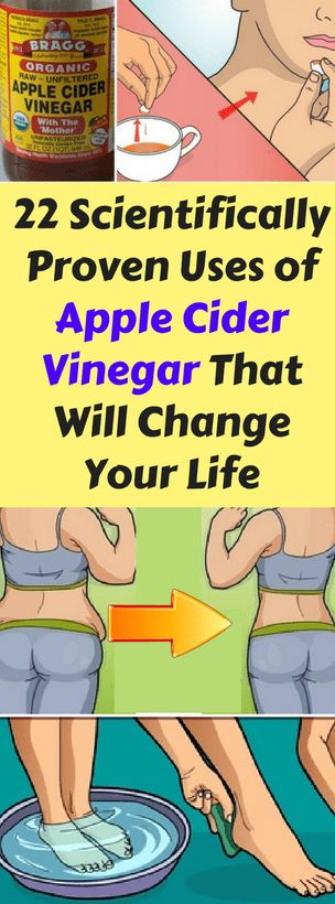 22 Scientifically Proven Uses of Apple Cider Vinegar That Will Change Your Life -