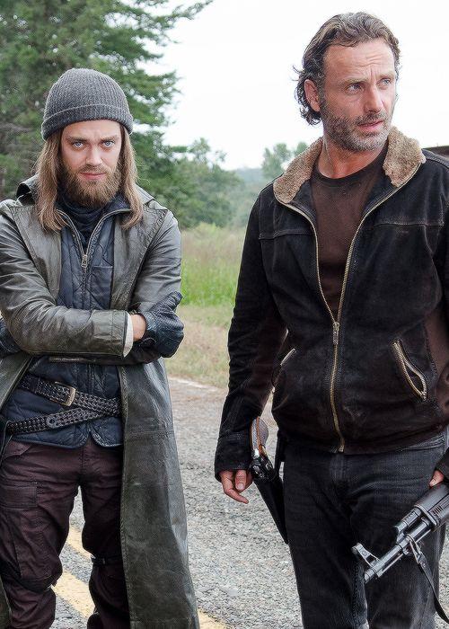 Jesus and Rick in The Walking Dead Season 6 Episode 12 | Not Tomorrow Yet