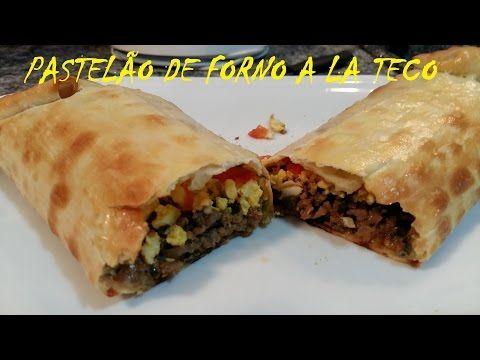 Pastel de Forno (Pastelão) - Ilove Recipes #13 - YouTube