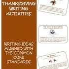 Here are 10 creative Thanksgiving Common Core Writing Activities that would be great to use for writing stations or as assignments during writing class. $