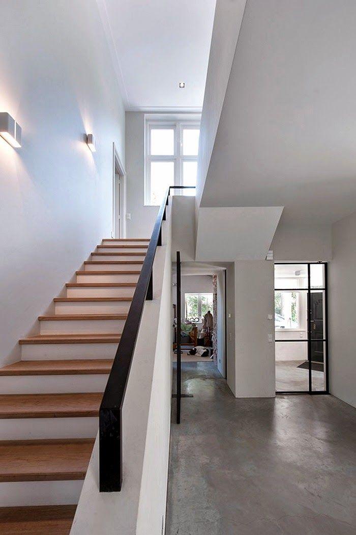 Meer dan 1000 idee n over trap ontwerp op pinterest trappen dek relingen en foyers - Railing trap ontwerp ...