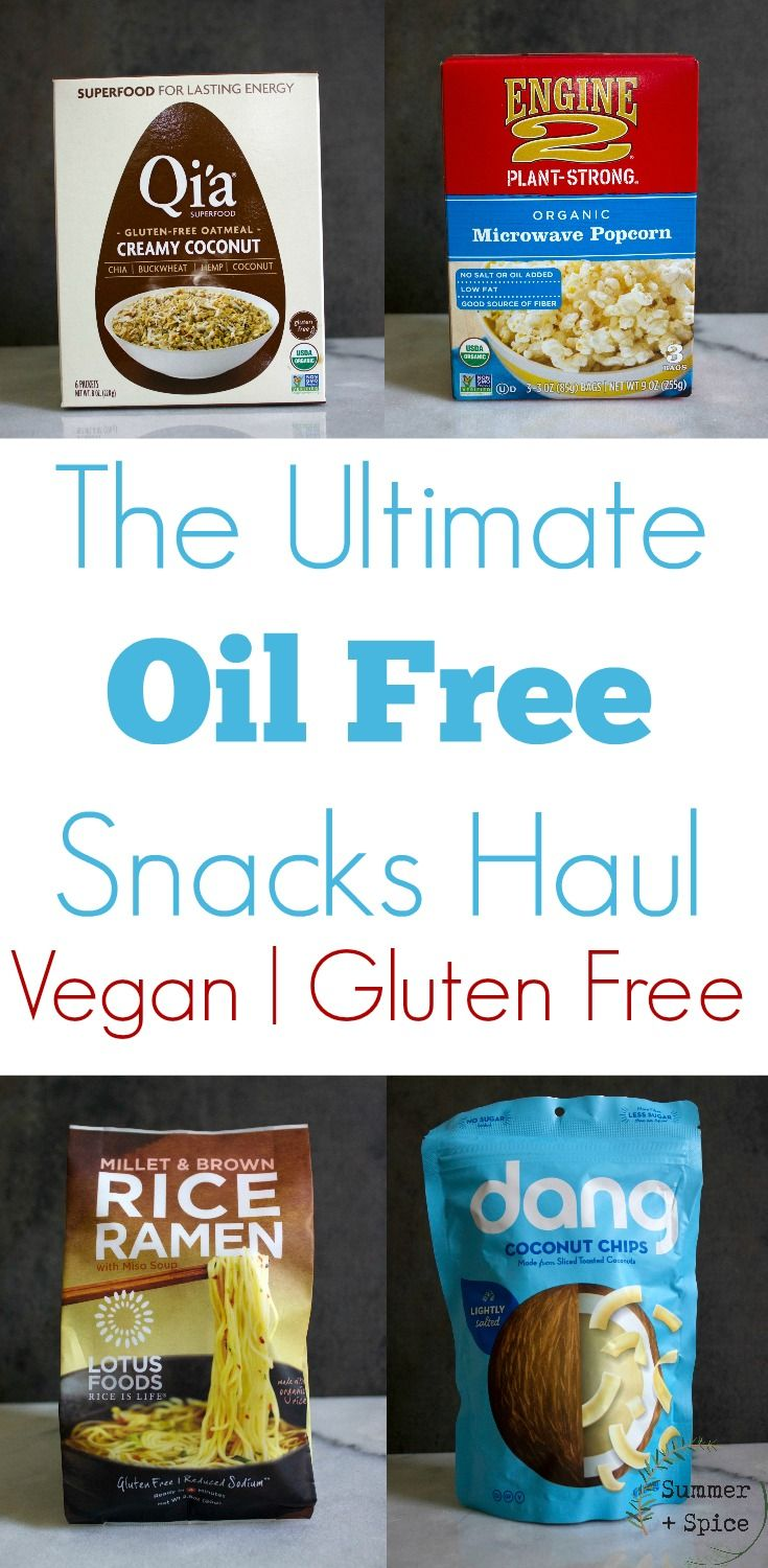 Oil Free Gluten Free Store Bought Snacks And Quick Meals Summer Spice Vegan Store Bought Snacks Healthy Vegan Snacks Vegan Snacks On The Go