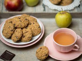 Ovsené jablkové keksíky