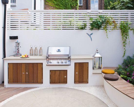17 migliori idee su cucine da esterno su pinterest for Piani patio esterno