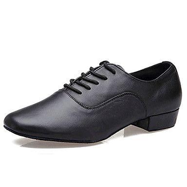 Sapatos+de+Dança+(+Preto+)+-+Homens+-+Não+Personalizável+-+Latim+–+EUR+€+29.39