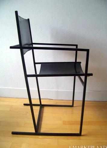 Dutch design stoelen van Albert Geertjes