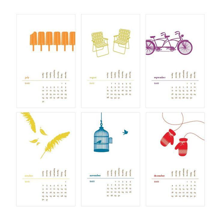 2011 Hanging Calendar(II)
