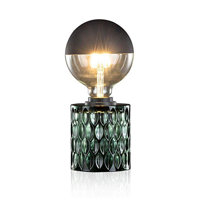 Pauleen Crystal Magic Tischleuchte Max 20w Tischlampe Fur E27 Lampen Nachttischlampe Grun 230v Glas In 2020 Nachttischlampe Tischleuchte Leuchtmittel