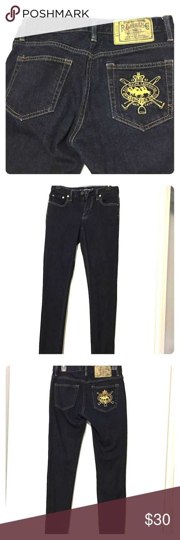 Brand New Women's Ralph Lauren Polo Jeans Brand new WOMENS Ralph Lauren Polo Jeans. I bought them at the Polo Outlet and have worn them once. They are a darker denim and sit right above the hips. Very slimming jeans and gorgeous Ralph Lauren logo on the pocket. Denim & Supply Ralph Lauren Jeans Straight Leg