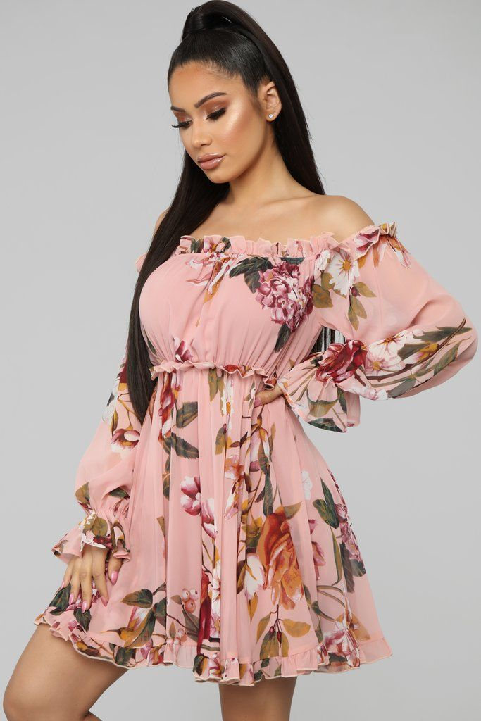 b584e165f Cultivate The Soul Floral Mini Dress - Pink in 2019 | Shopping ...