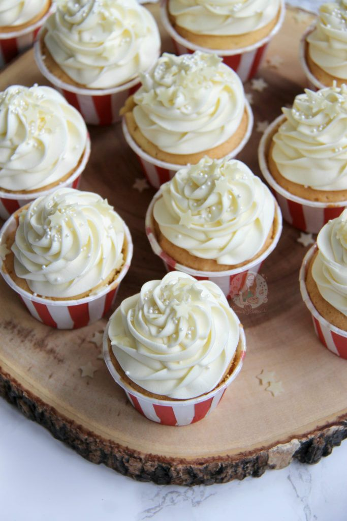 White Chocolate Cupcakes! - Jane's Patisserie