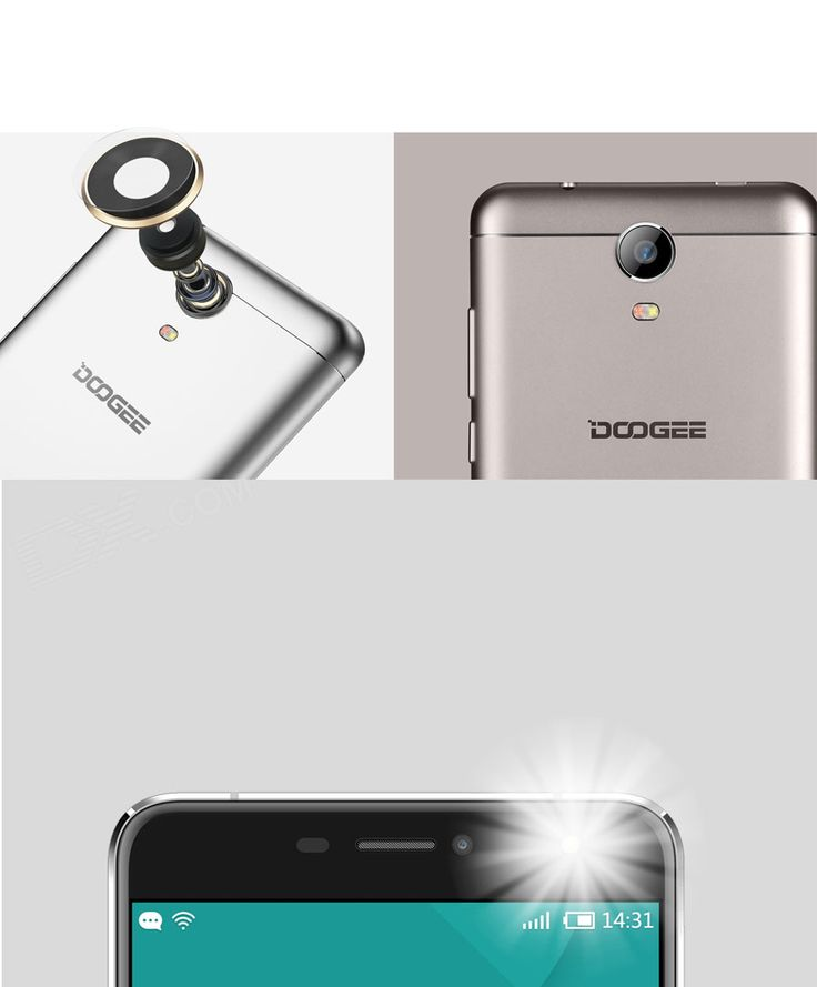 """DOOGEE X7 Pro Android 6.0 4G Phone w/ 6.0"""" HD IPS, 2GB RAM, 16GB ROM - Free Shipping - DealExtreme"""