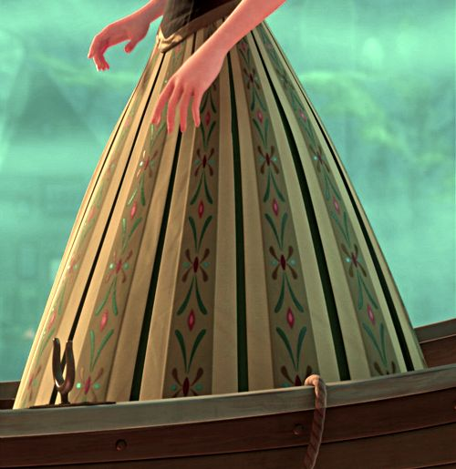 Day Dresses  Frozen Anna  Anna Skirts  Anna Costumes  Green DressesAnna Frozen Coronation Day