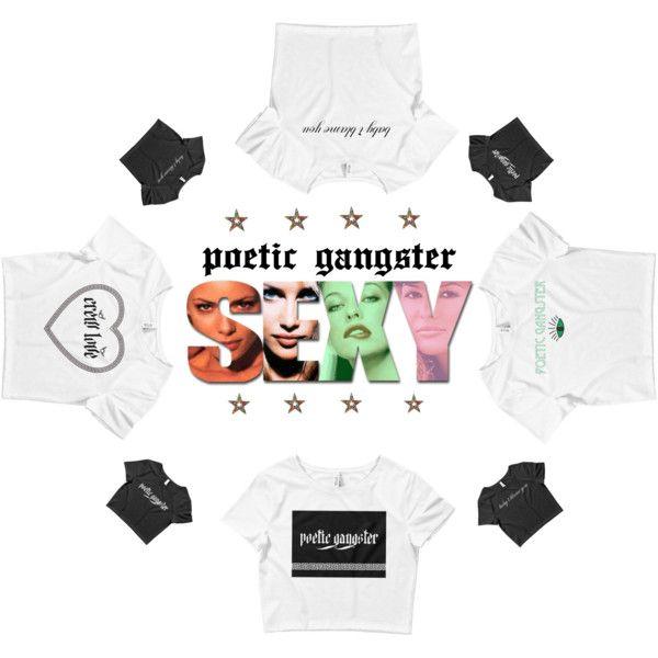 Poetic Gangster Crop Top