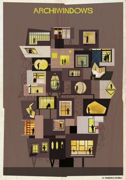© Federico Babina In his latest series, ARCHIWINDOW, Federico Babina draws some inspiration perhaps from the headline exhibition the Venice Biennale,