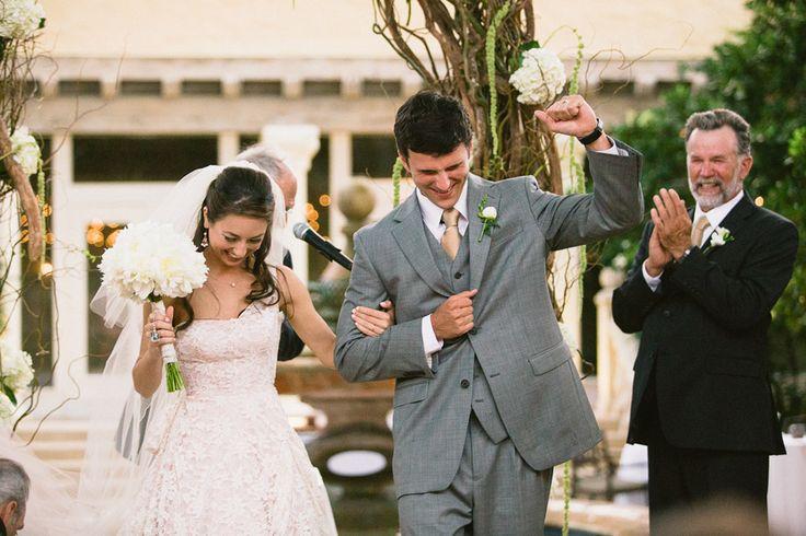 Lauren Davis and John Michael Cummings' romantic vintage wedding was full of personal touches.