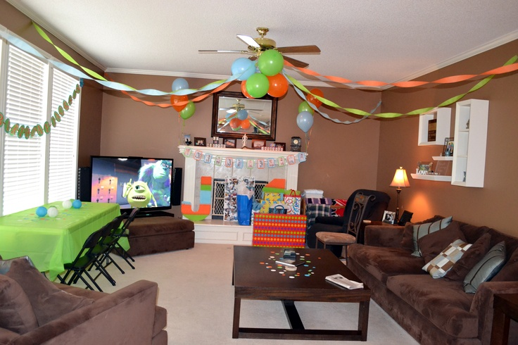 1000 images about jackson 39 s monster mash birthday bash on for Room decoration ideas for 50th birthday
