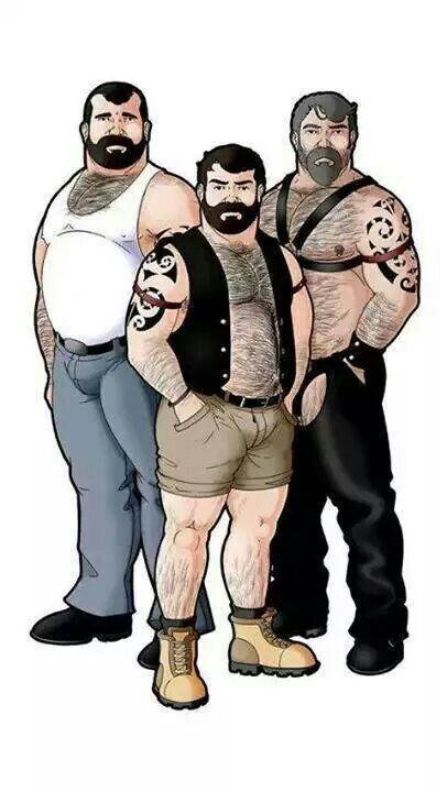 Bear Comic Gay