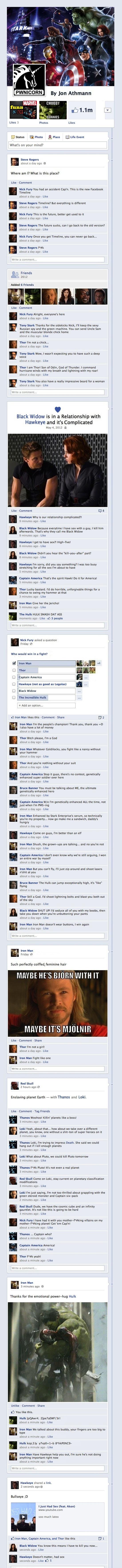 Dude. Epic.Nerd, Facebook, Iron Man, Too Funny, Hulk Smash, Theavengers, So Funny, Avengers Assembly, The Avengers