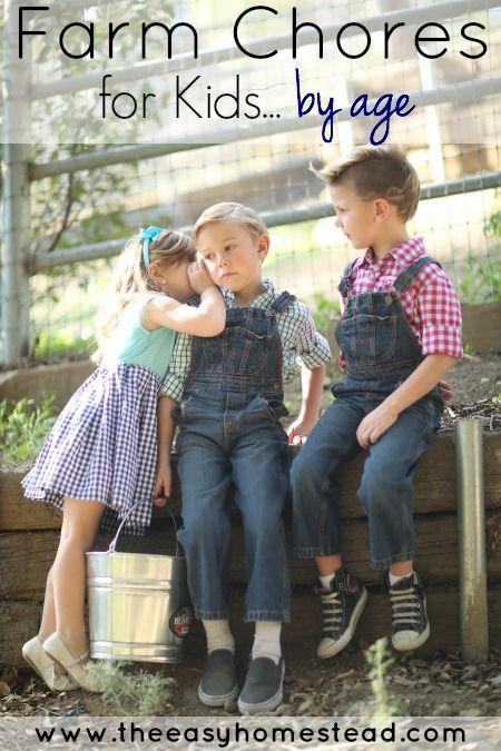 Farm Chores for Kids | The Easy Homestead (.com)