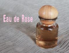 Eau de rose bio maison