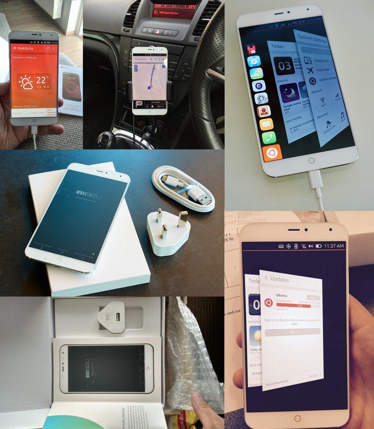 Meizu MX4 Ubuntu Edition white Ubuntu Phone