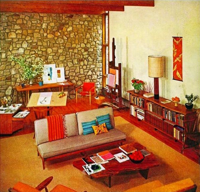 Lifestyle Art By Flore Retro Living Rooms Vintage Living Room Design Vintage Living Room