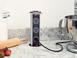 Angle Power Strip - - kitchen lighting and cabinet lighting - omaha - by Task Lighting