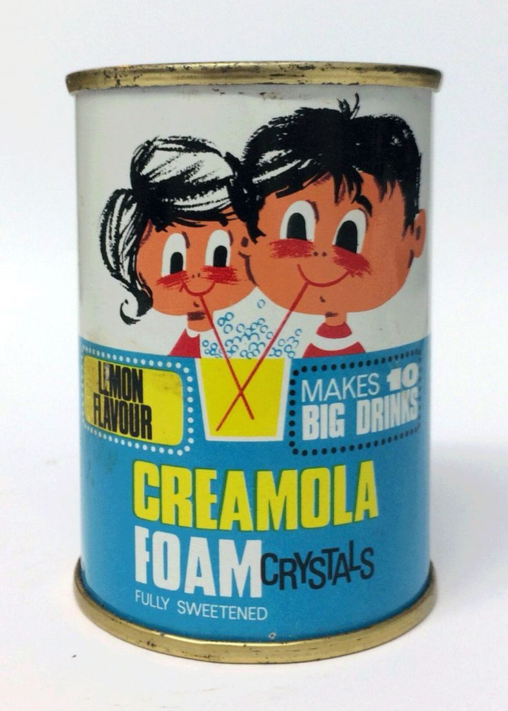 Creamola Foam, this was good, did it froth up or what!!! Was so delicious!!