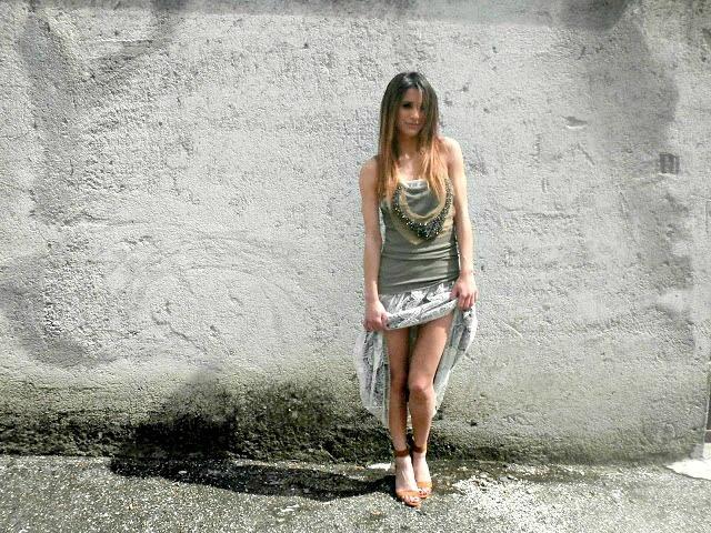 #martinacancellotti wearing #OLYMPIA #maxiskirt #skirt and DENVER #top #lace #boho #gipsy #outfit #summer #blogger #glamourmarmalade #danielacolombo #italy