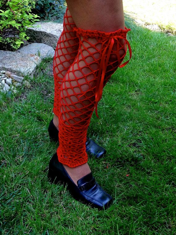 Lacy Long Stockings Reserved for demco11 by domklary on Etsy, $30.00