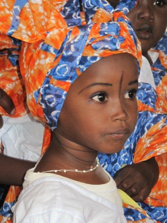 What a beautiful child in Senegal, Africa.