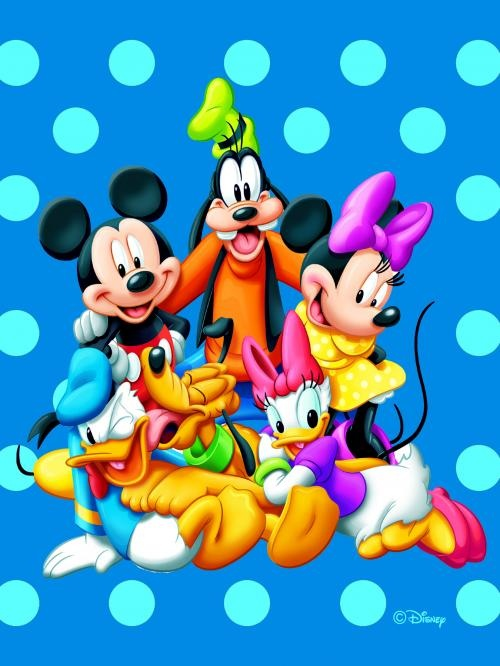 Mickey Mouse And Pals Disney Area Rugs
