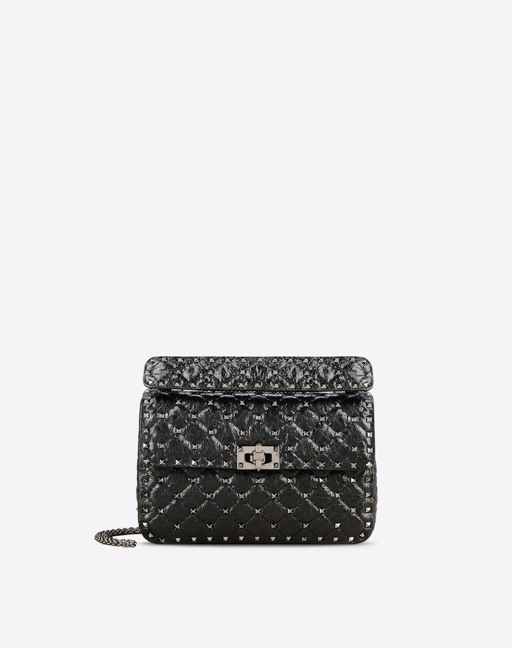 Valentino Valentino Garavani Rockstud Spike Medium Bag, Shoulder Bags for Women - Valentino Online Boutique