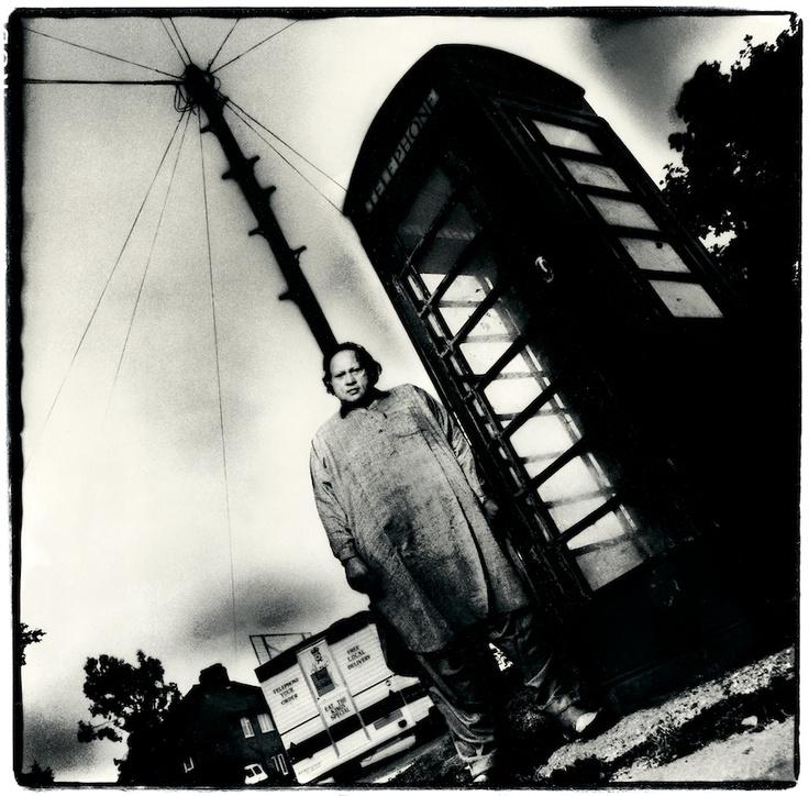 Nusrat Fateh Ali Khan by Alain Duplantier