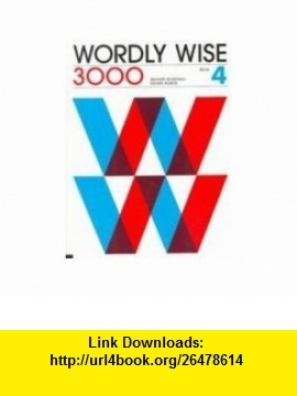 wordly wise 3000 book k pdf