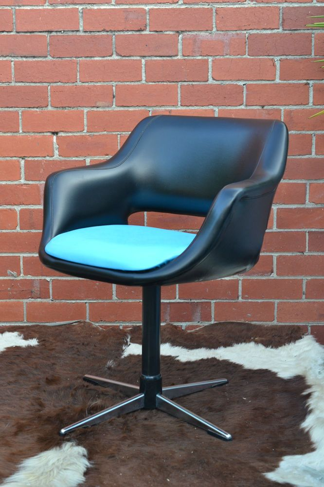 mid century danish deluxe swivel chair office chair dining chair