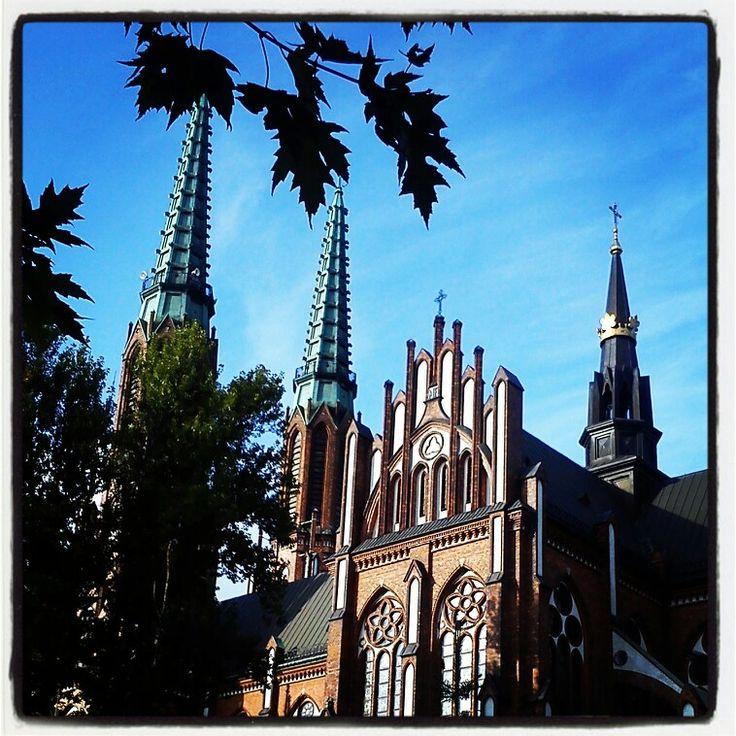 Warsaw Praga St. Florian Cathedral.