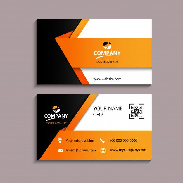 Modern Business Card Free Business Card Design Business Cards