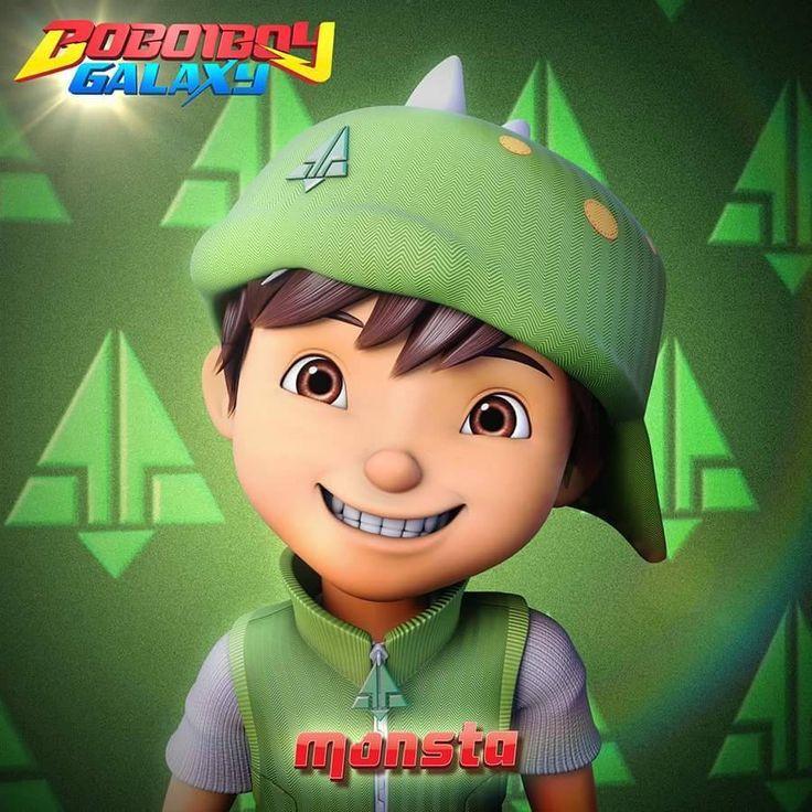 Boboiboy Daun di 2020 | Gambar lucu, Kartun, Kartu lucu