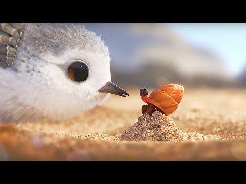 PiPer - Un cortometraje sobre superar la adversidad. Como padres debemos motivarlos más que resguardarlos.