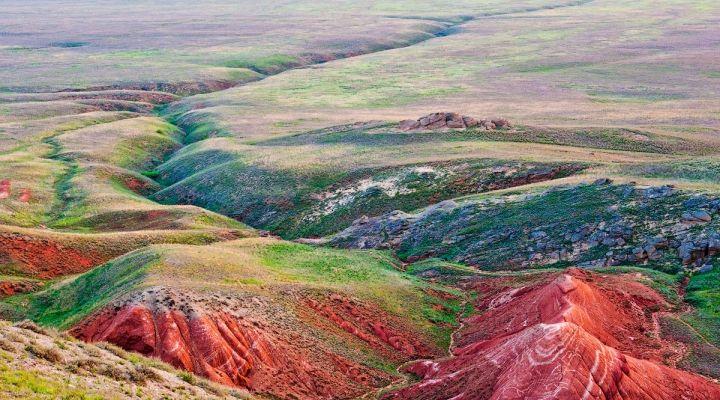 Астраханская область. Гора Большое Богдо