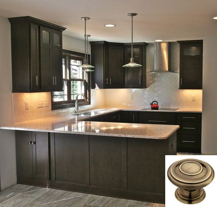 Dark Light Oak Maple Cherry Cabinetry And Real Wood Kitchen