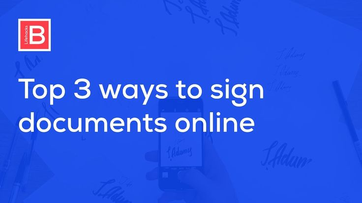 How to Create Electronic Signature Sign PDF and Word Documents (Online & Offline Method)