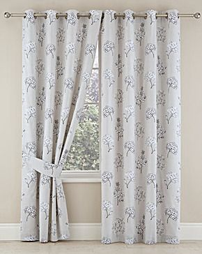 Annabella Lined Eyelet Curtains