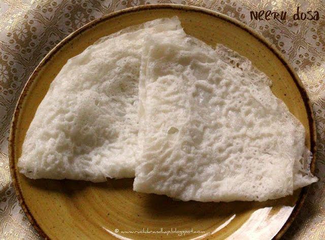 Panpolay/Neer Dosa - Simple Rice Pancakes
